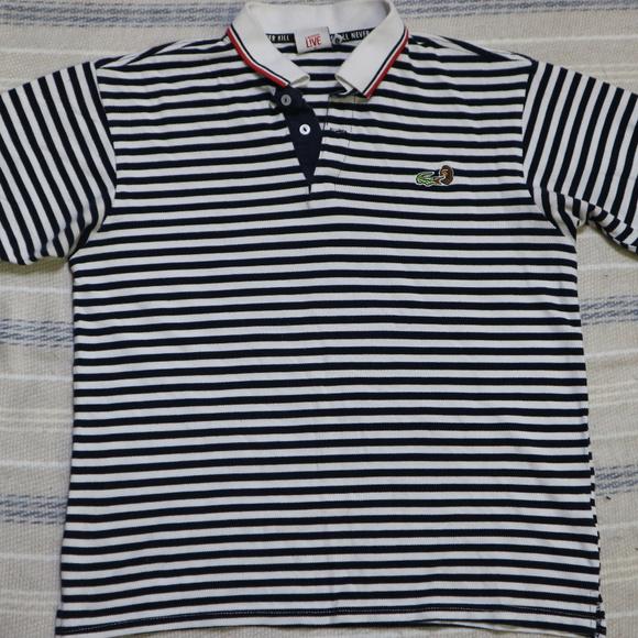 be0089e524 Lacoste Shirts   Live X A Bathing Ape Hoop Polo Shirt   Poshmark
